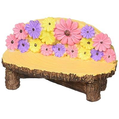 Darice DC2014001 Mini Garden Bench Resin: Home & Kitchen