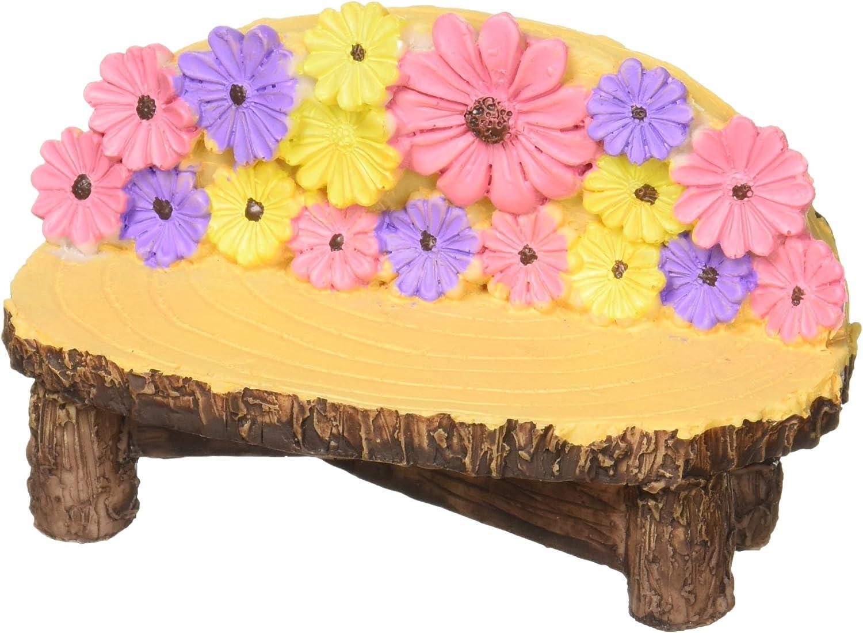 Darice DC2014001 Mini Garden Bench Resin