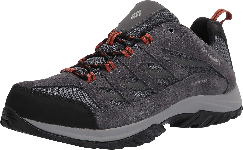 Columbia Men s Crestwood Waterproof Hiking Boot Shoe