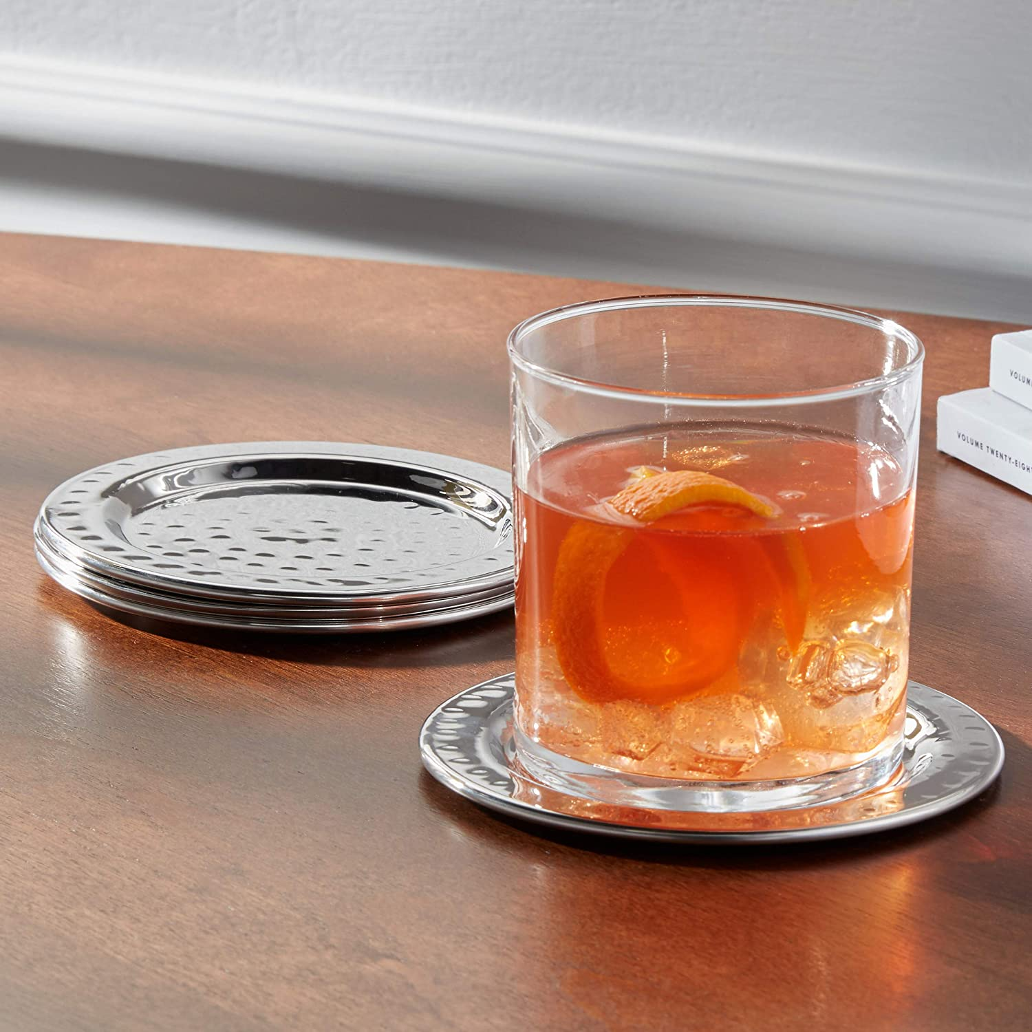 Stainless Steel Coasters ONLY.