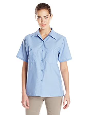 827d5380 Amazon.com: Red Kap Women's Industrial Work Shirt: Clothing