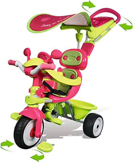 Tricycle smoby baby driver confort fille