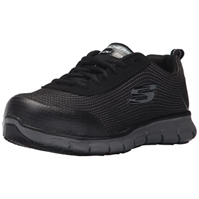 Skechers for Work Women's Synergy Alloy Toe Work Shoe: Shoes