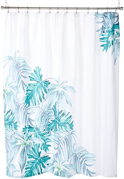 Caro Home MQUES1307 Martinique Shower Curtain In Teal