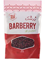TAJ Foods Dried Barberry, 185 Grams