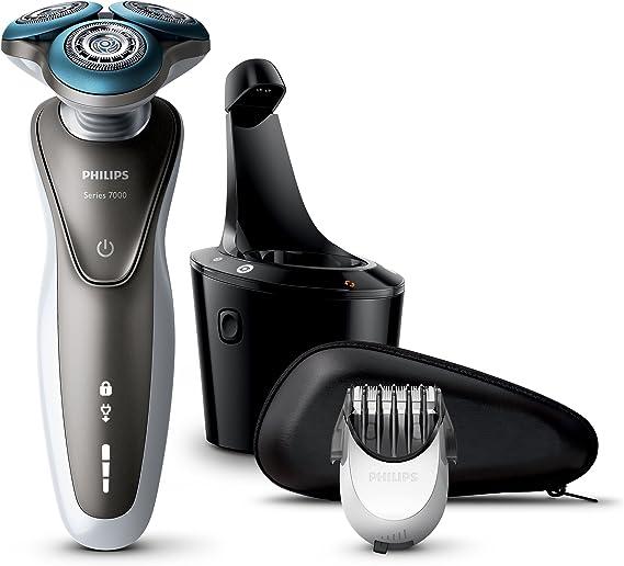Philips S7720/31 - Afeitadora eléctrica rotativa para hombre, li ...
