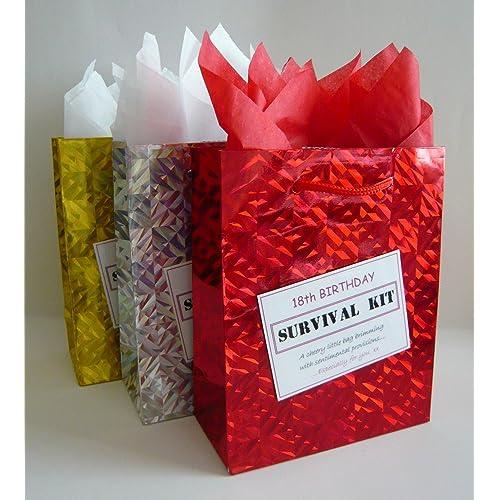 18th Birthday Survival Kit For Female Fun Gift Idea Novelty Present