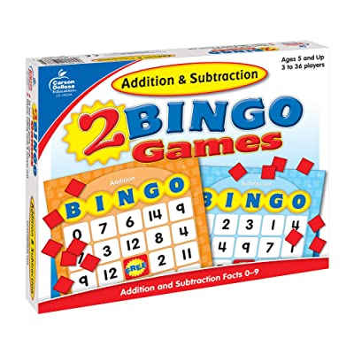 Carson-Dellosa Addition & Subtraction Bingo: Carson-Dellosa Publishing: Toys & Games