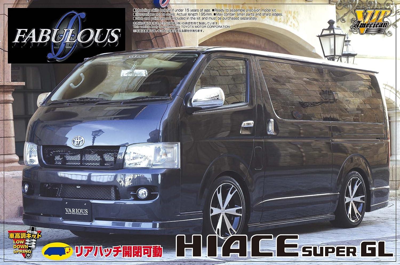 青島文化教材社 1/24 VIPアメリカンシリーズ No.20 ファブレス ヴァリエス トヨタ 200系 ハイエース プラモデル B002KP469O
