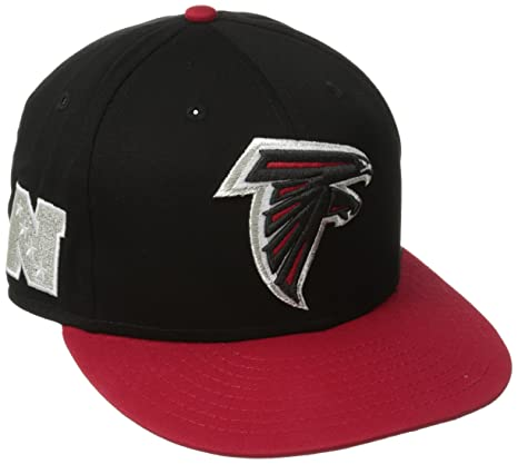 Amazon.com   New Era NFL Atlanta Falcons Baycik Snap 9Fifty Snapback ... 8946d94fb89