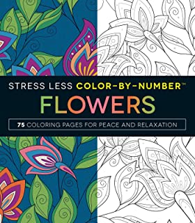 Stress Less Color By Number Mandalas 75 Coloring Pages For Peace