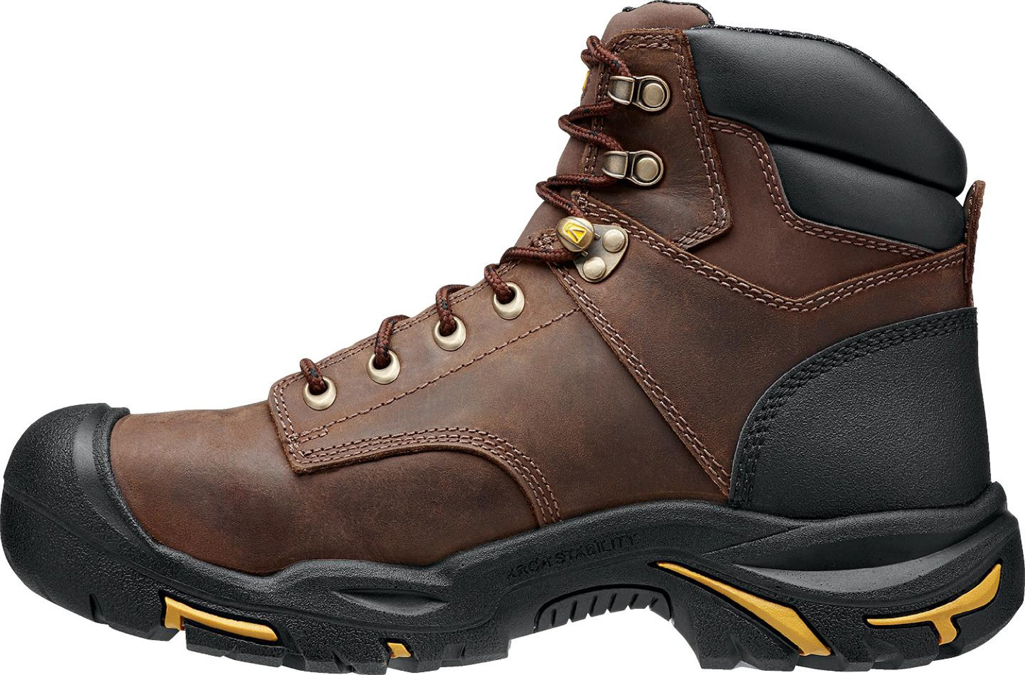 KEEN Utility MT Vernon 6'' Waterproof (Steel Toe), Men's Work Boot, Cascade Brown, 15 EE by KEEN Utility (Image #4)