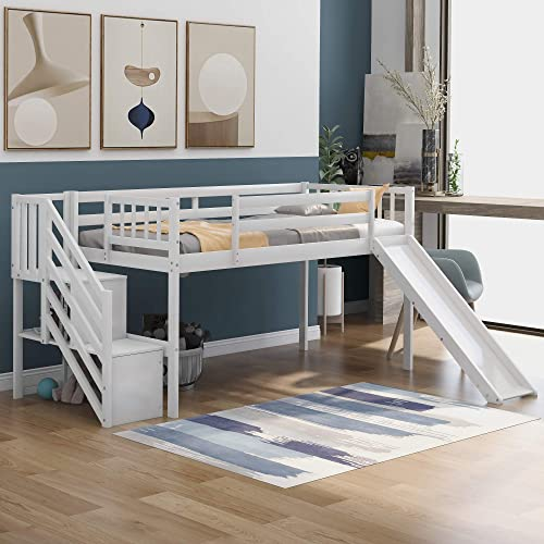 Merax Floor Loft Bed