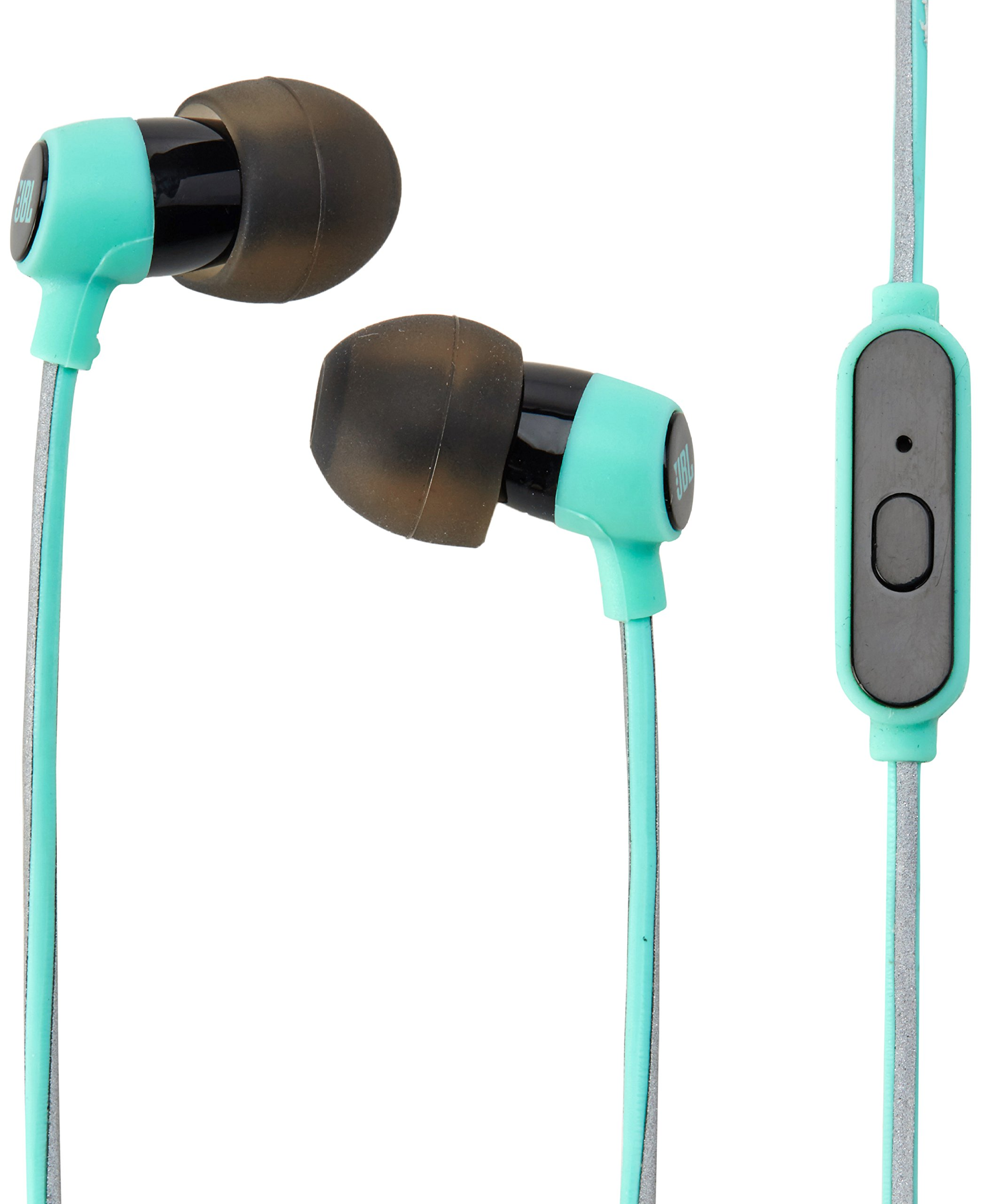 33d8f251f8e Galleon - JBL Reflect Mini In-Ear Headphones 3.5mm Stereo Wired Sweatproof  Earbud With 1 Button Remote And Mic, Teal