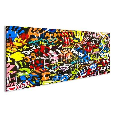 islandburner Quadri moderni Funky luminoso e graffiti colorati sul ...