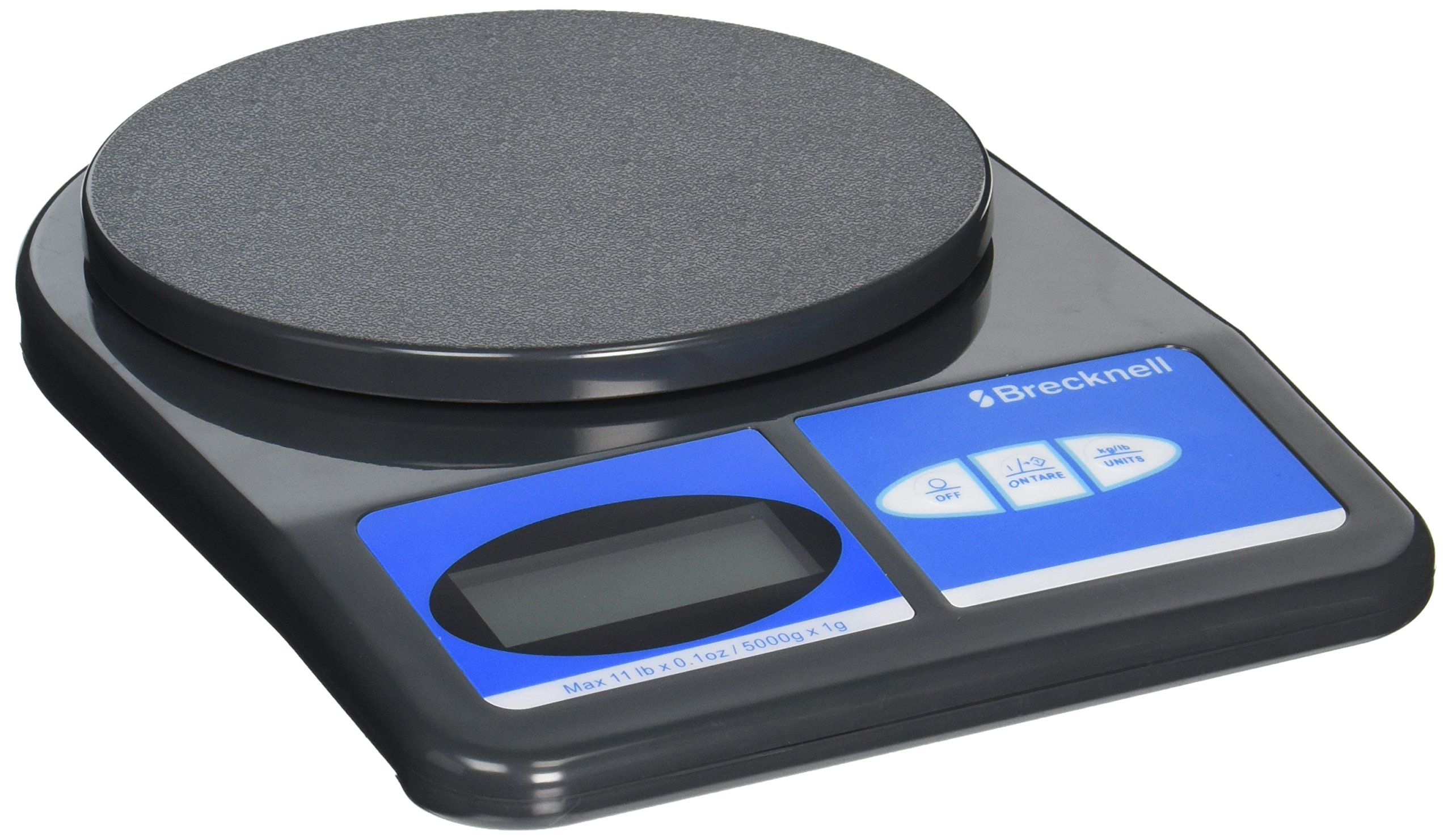 Salter Brecknell 311 11-lb.Weight-Only Scale, 11-lb x 0.1 oz. Capacity, 5-3/4 Dia. Platform by Salter Brecknell