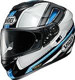 ショウエイ(SHOEI) バイクヘルメット フルフェイス GT-Air DAUNTLESS(ドーントレス) TC-10(BLUE/WHITE) M (頭囲 57cm)