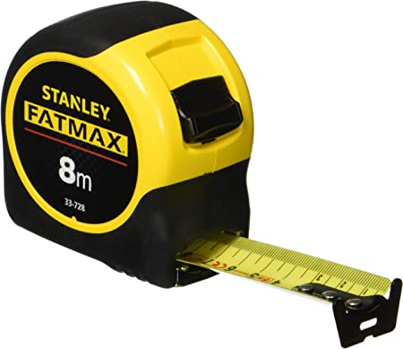 STA033805 Stanley Tools FatMax BladeArmor Tape 10m//33ft Largeur 32 mm