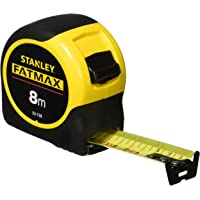 STANLEY FATMAX Classic Tape with Blade Armor, 8m Metric Only