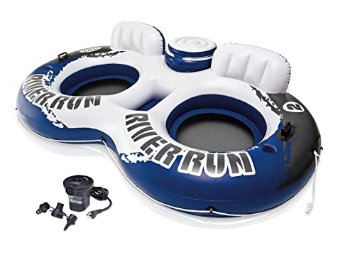 INTEX River Run II 2-Person Water Tube Float