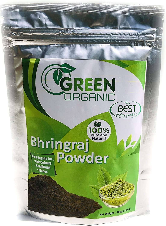 Bhringraj Polvo natural para pérdida de cabello | Tratamiento ...