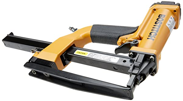 This Pneumatic Staple Gun has a powerful shuttle blade that provides pre-compression before and during operation.
