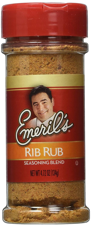 Emeril's Seasoning Blend, Rib Rub, 4.72 Ounce