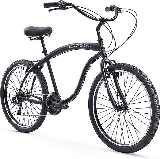 Firmstrong Bruiser Man Siete velocidades Bicicleta de Playa ...