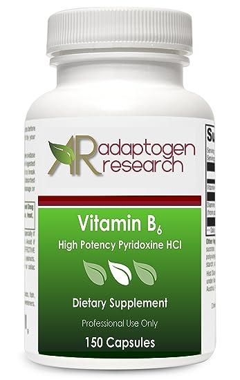 Vitamin B6   High Potency Pyridoxine HCL   B-6-250 mg   Supports