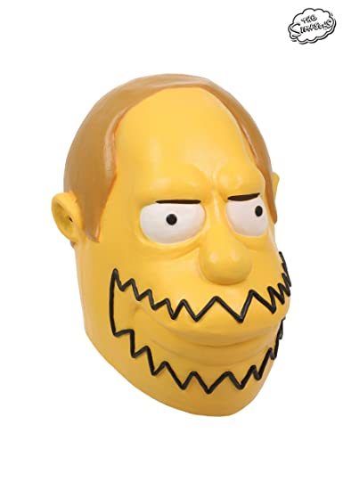 Simpsons Comic Book Guy Adult Mask Standardhttps://amzn.to/2PxjGZG
