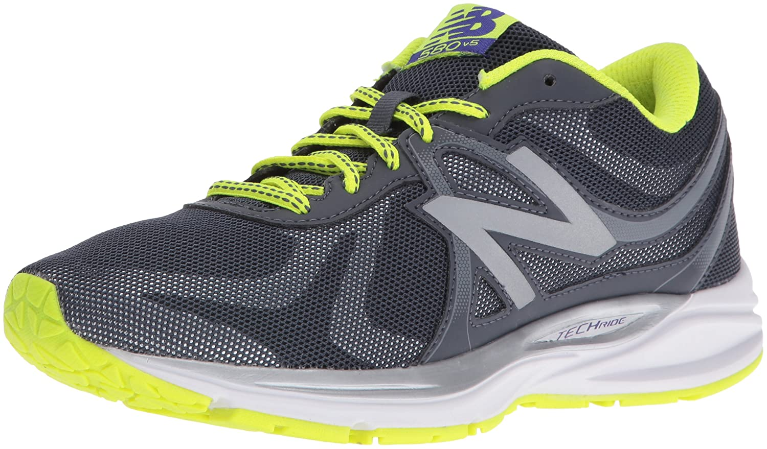 New Balance Women's W580LG5 Running Shoe B01CQV7GX4 5.5 D US|Dark Grey