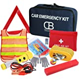 Discoball® Car Driving Safety Emergency Kit EU Vehicle Repair Essentials Travel Tool Case