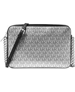 19c8fac16b98 Michael Kors Women s Jet Set Crossbody Leather Bag - Acorn  Handbags ...