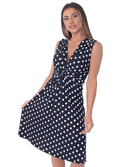 75462c75ea4 KRISP Robe Femme Patineuse Courte Chic Imprimé Mode  Amazon.fr  Vêtements  et accessoires