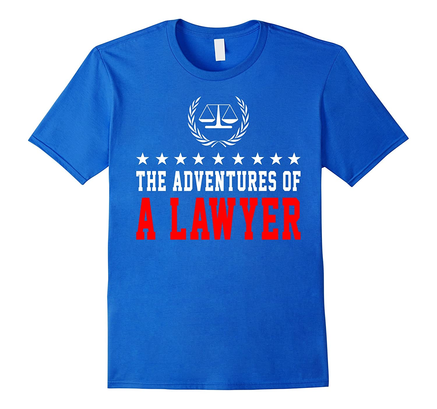 The Adventures of A Lawyer Funny Shirt Gift, Attorney Shirt-Art