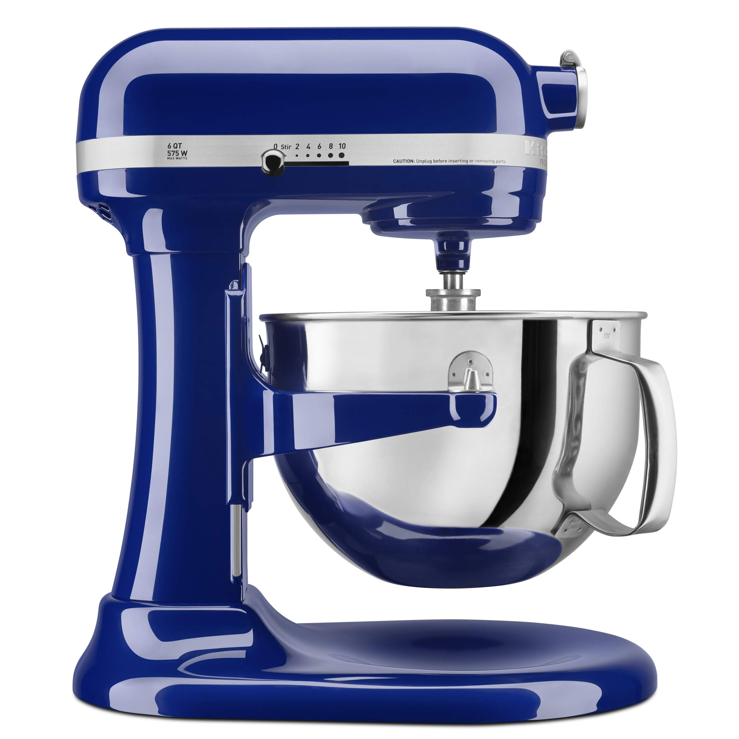 KitchenAid KP26M1XBU 6 Qt. Professional 600 Series Bowl-Lift Stand Mixer - Cobalt Blue by KitchenAid