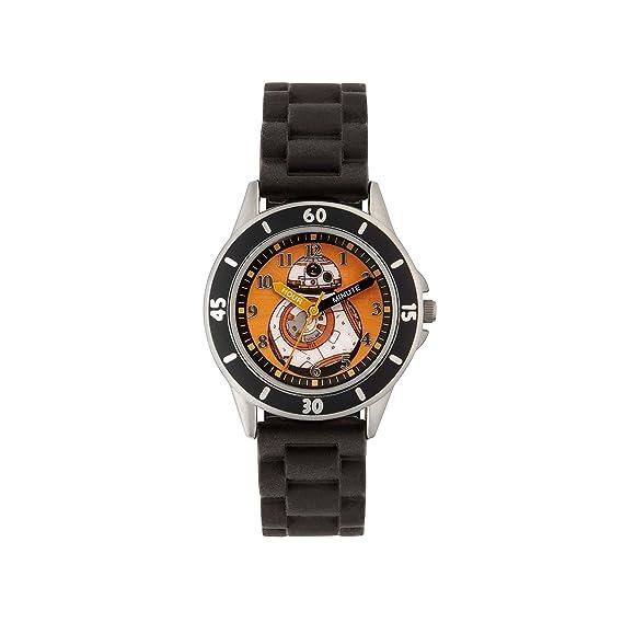 Star Wars SWM3046 Boys BB-8 Watch with Black Silicone Strap
