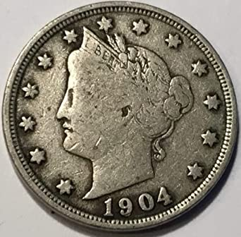 1904 Liberty V Nickel F15 At Amazon S Collectible Coins Store