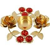 Indian Home Decorations Diwali Diya Lights Candle Holder Floral Arrangements