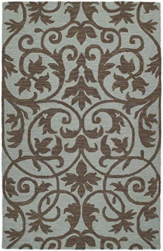 Kaleen Rugs Carriage Collection 6101-56 Spa Hand Tufted 9 x 12 Rug