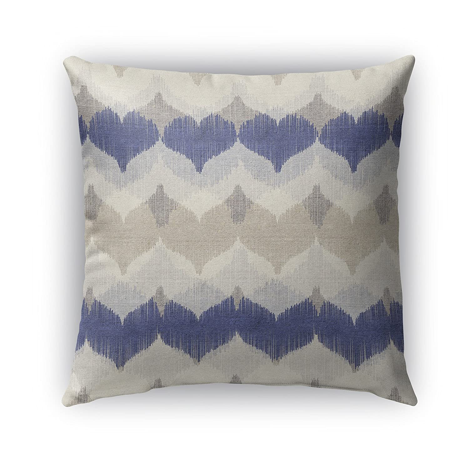 ArtVerse Katelyn Smith Louisiana Love 26 x 26 Pillow-Cotton Twill Double Sided Print with Concealed Zipper /& Insert