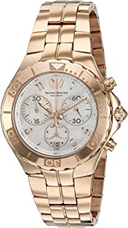 Technomarine Womens Sea Pearl Quartz Stainless Steel Casual Watch (Model: ...