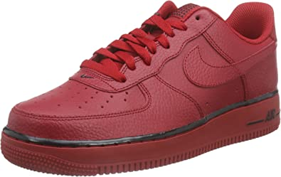 nike air force 1 rosse uomo