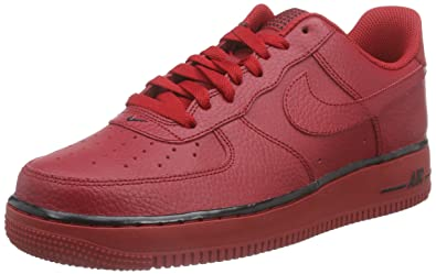 5e734ce2aec49 Nike Herren AIR Force 1 '07 Sneakers, Rot (Gym Red/Gym Red), 45 EU ...