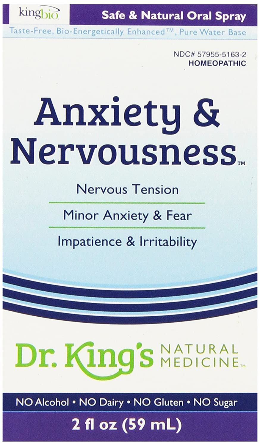 Amazon.com: Dr. King's Natural Medicine Anxiety and Nervousness, 2 ...