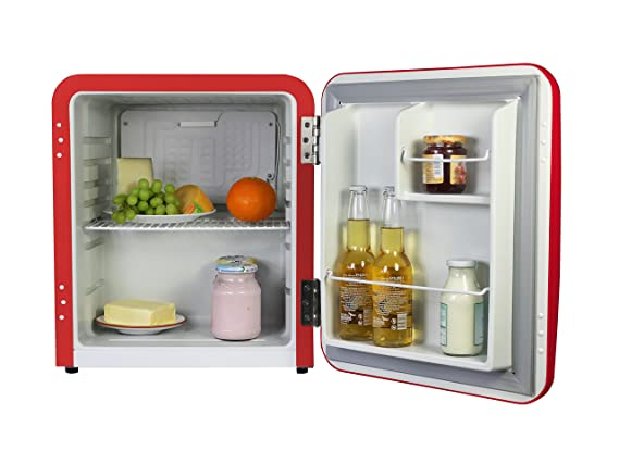 Kühlschrank Vintage : Vintage industries ~ mini retro kühlschrank miami 2018 in rot mini