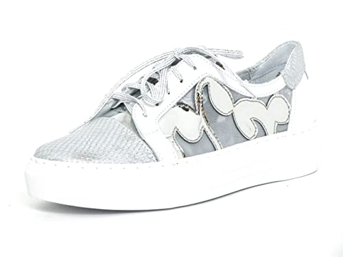 Blancoweiß Con Simen Zapatos Mujeres Kombi347aAmazon Cordones nmN8Ov0w