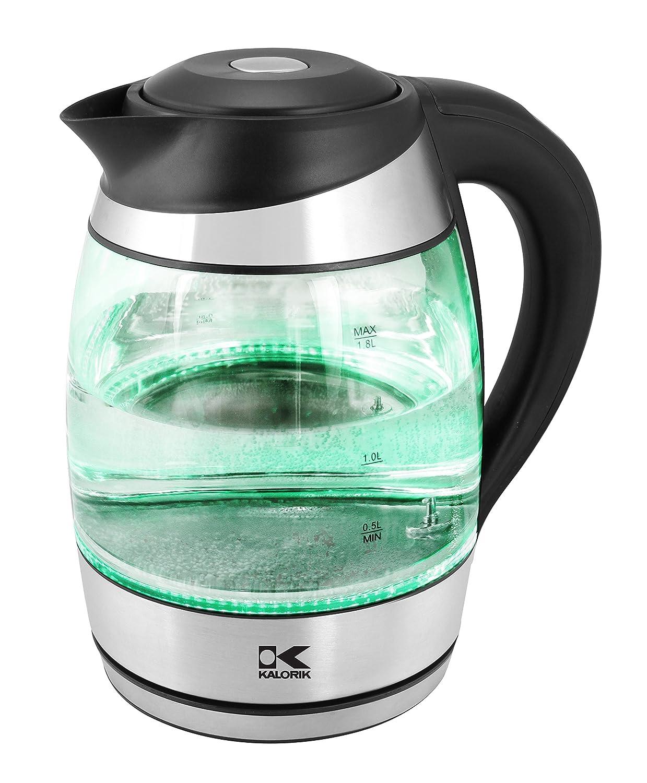 Amazon.com: Kalorik JK 42656 BK LED Water Kettle, Black: Kitchen & Dining