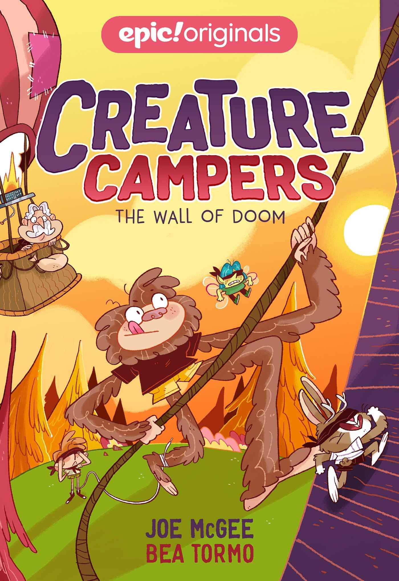 Amazon Com The Wall Of Doom Volume 3 Creature Campers 9781524860905 Mcgee Joe Tormo Bea Books