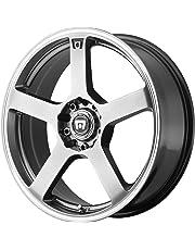 amazon wheels tires wheels automotive car truck suv 77 GMC Sierra motegi racing mr116 dark silver wheel with machined flange 15x6 5 5x100